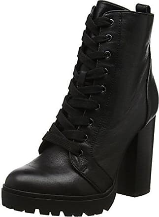Steve Madden Livia Ankle Boot, Botas para Mujer, Negro (Black 01001), 36 EU