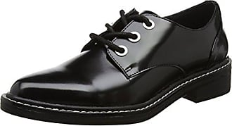 Little, Zapatos de Cordones Brogue para Mujer, Multicolor (Pewter Chrome 001), 37.5 EU Steve Madden
