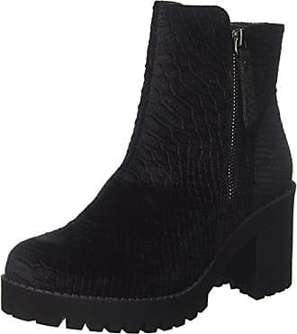 Retrro, Bottes Classiques Femme - Noir (Black Leather), 36 EUSteve Madden