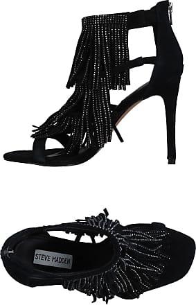 91000375-0S0, Bout Ouvert Femme - Noir - Noir (Black 01001), 37Steve Madden