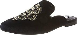 Steve Madden Mujer SMSKERAB-BLKM Slippers Negro Size: 37.5 EU yVhLp4PmV