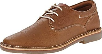 Steve Madden Men's Healer-A Oxford, Tan Embossed, 7.5 M US