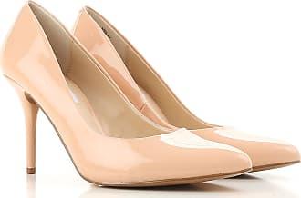 Zapatos de Tacón de Salón Baratos en Rebajas, Colorete Nude, Patente, 2017, 36 Steve Madden