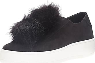 Steve Madden Damen Breeze Sneakers, Schwarz (Black Satin), 38 EU