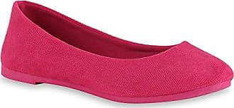 Klassische Damen Ballerinas Flats Leder-Optik Lack Glitzer Schleifen Ballerina Übergrößen Schuhe 141413 Grau 39 Flandell