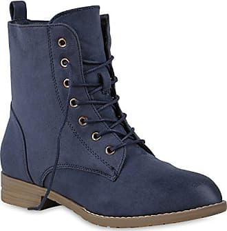 Gefütterte Damen Stiefeletten Stiefel Worker Boots Schuhe 151850 Braun Camargo 41 Flandell