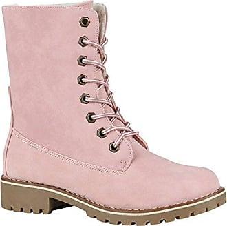 Damen Stiefel Worker Boots Outdoor Schuhe 145298 Grau Autol 40 Flandell