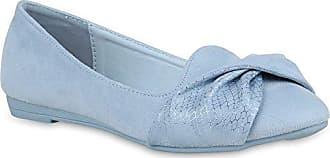 Klassische Damen Schuhe Ballerinas Spitze Slippers Business Slip Ons 157336 Schwarz Amares 38 Flandell