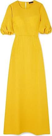 Robe Longue Tissée Métallisée Delia - Jaune oeilletStine Goya