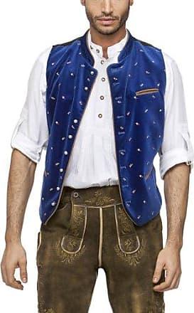 Calzado Chaleco para traje tradicional alemán para hombre Azul ... 6b4330e621fb