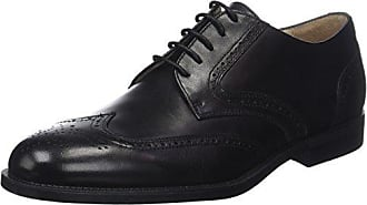 Clyde 22 Brush Off, Scarpe Stringate Oxford Donna, Nero (Nero/Black), 38 EU Stonefly