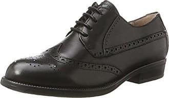 Schmoove Newton Richelieu, Zapatos de Cordones Brogue para Mujer, Negro (Preto/Nero 15), 36 EU