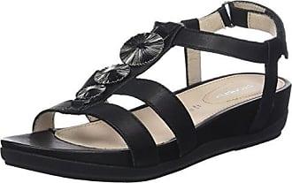 Womens Eve 13 Calf T-Bar Sandals Stonefly