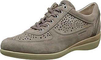 Stonefly 107100 - Zapatillas para Mujer, Color Gris, Talla 36 EU (Talla del Fabricante: 3.5 UK)