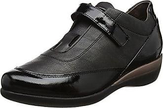 Stonefly Emily 10 Goat Suede, Zapatos con Plataforma para Mujer, Negro (Nero/Black), 40 EU