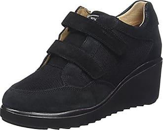 Eclipse 8 Vel/Mesh, Zapatos con Plataforma para Mujer, Azul (Dark Denim 101), 35 EU Stonefly