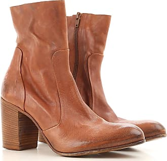 Boots for Women, Booties On Sale, brown leather, Leather, 2017, 2.5 3.5 4.5 5.5 Strategia