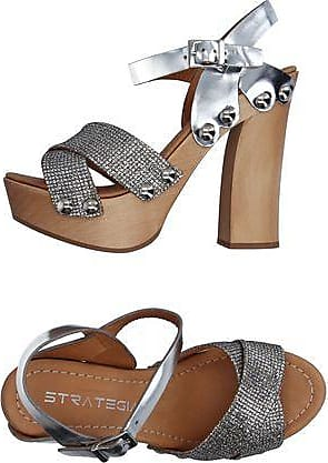 Sandals for Women On Sale, Beige, Leather, 2017, 4.5 5.5 7.5 Strategia