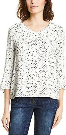 Street One 312199, Camiseta para Mujer, Multicolor (White 20000), 42