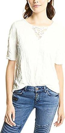 Street One 311426, Camiseta para Mujer, Blanco (Off White 10108), 40 (Talla del Fabricante: 38)