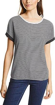 Street One 311453, Camiseta para Mujer, Negro (Black 30001), 46 (Talla del Fabricante: 44)