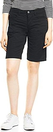 Street One A371469, Pantalones Cortos para Mujer, Gris (Lunar Grey 10821), 40