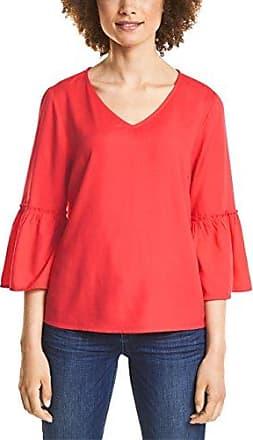Street One 340956, Blusa para Mujer, Rojo (Hibiscus Red 11346), 38 (Talla del Fabricante: 36)