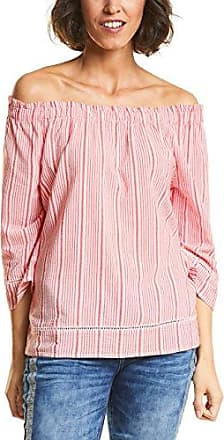 Street One 340904, Blusa para Mujer, Multicolor (Hibiscus Red 21346), 46