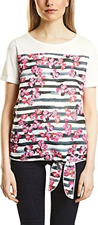 Street One 312077, Camiseta para Mujer, Multicolor (Off White 30108), 44