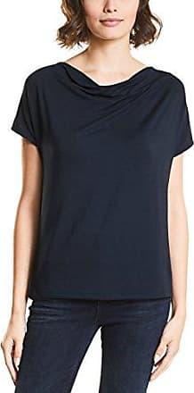311973, T-Shirt Femme Bleu (Night Blue 10109) 42Street One