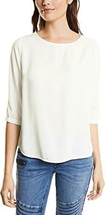 Street One 340953, Blusa para Mujer, Multicolor (White 20000), 44 (Talla del Fabricante: 42)