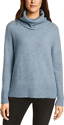 Street One Hoody with Lacing and Drawstring, Suéter para Mujer, Blau (Night Blue 10109), 36 (Talla del Fabricante: 34)