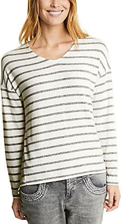 Street One 312348, Camiseta para Mujer, Mehrfarbig (Deep Blue 31238), 42(Talla del Fabricante: 40)