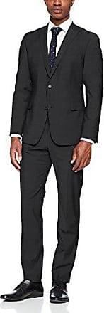 11005333 - L-Mercer - Pantalones de traje para hombre, color azul (126), talla 46 Strellson Premium