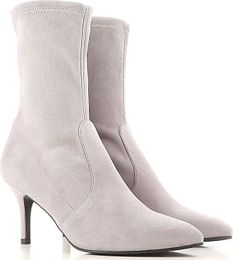 Boots for Women, Booties On Sale, Blue, Suede leather, 2017, US 9.5 (EU 40) Stuart Weitzman