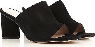 Sandals for Women On Sale, Black, Suede leather, 2017, US 5.5 (EU 36) US 6.5 (EU 37) US 7.5 (EU 38) US 8.5 (EU 39) Stuart Weitzman