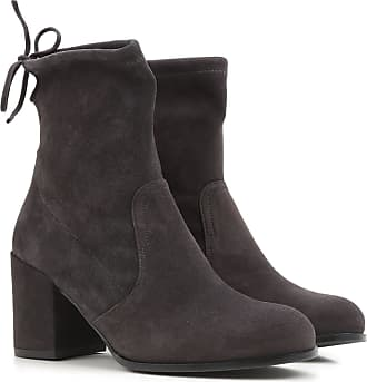 Boots for Women, Booties On Sale, nutmeg, Suede leather, 2017, US 7.5 (EU 37.5) Stuart Weitzman