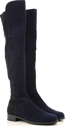 Boots for Women, Booties On Sale, Black, Suede leather, 2017, US 7 (EU 37.5) US 9.5 (EU 40) Stuart Weitzman