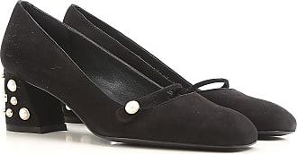 Zapatos de Mujer Baratos en Rebajas Outlet, Cieno Oscuro, Gamuza, 2017, 38 Stuart Weitzman