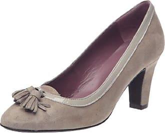fed9e379 STUDIO PALOMA 18305_Marron - Zapatos de vestir de cuero para mujer, color  marrón, ...