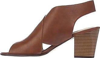 Style & Co. Frauen Danyell Offener Zeh Leger Mules Braun Groesse 6.5 US/37.5 EU