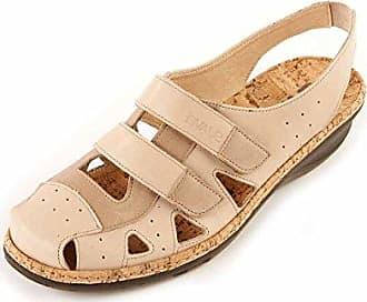 Suave Damen Sandalette braun