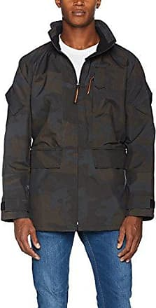 Kenway-Q5138, Chaqueta para Hombre, Negro (Black Camou 6010), Large Suit