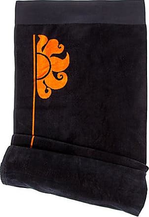 icon towel color black Sundek