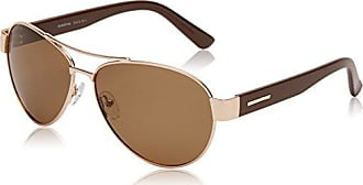 Sunoptic Lunettes Pilote Homme - Or - Gold/G15 Lens - FR : Taille unique (Taille fabricant : One Size)