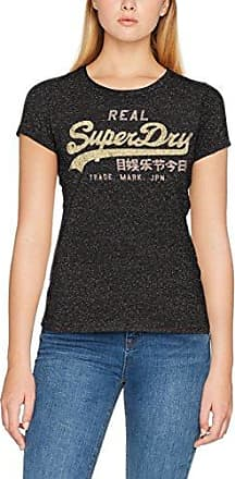 G10021RP, Pull sans Manche Femme, Gris (Charcoal Nep), (Taille Fabricant: Large)Superdry