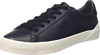 Superdry Sleek Low Premium, Sneaker a Collo Basso Uomo, Nero (Black/Dark Charcoal), 43 EU