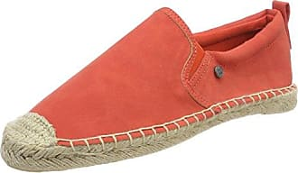 Superdry Asha Flatform Espadrilles 36 EU Scorched Red Canvas