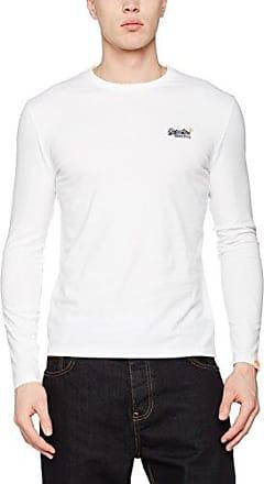 Superdry Stacker, Camiseta para Mujer, Bianco (Jungle White), X-Large