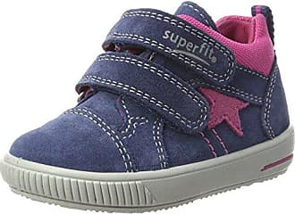Bill 808271, Chaussures Bébé Marche Bébé Fille - Gris - Grau (Charcoal Multi)Superfit